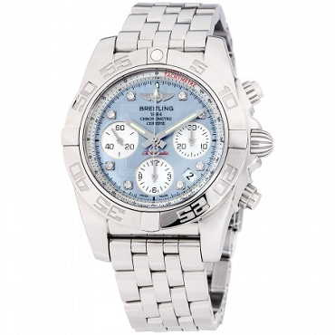 BREITLING CHRONOMAT AUTOMATIC MOVEMENT MOTHER OF PEARL DIAL