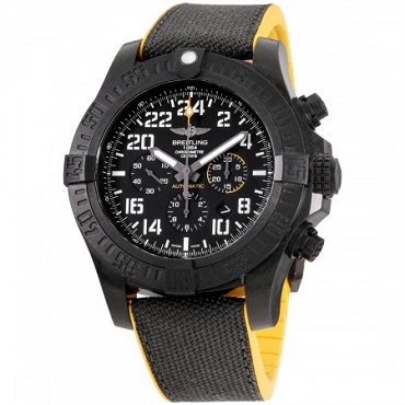 BREITLING AVENGER HURRICANE AUTOMATIC MOVEMENT BLACK DIAL