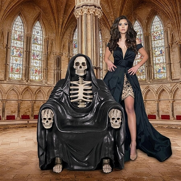Seat of Death Grim Reaper Throne Chair