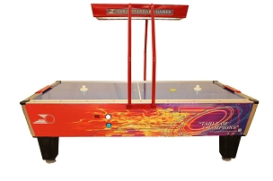 Gold Star Games Gold Pro Elite Air Hockey Table 8HGF-W02-OHS-NL