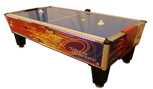 Gold Standard Games Gold Flare Home Air Hockey Table 8HGF-WO2-TRS-L