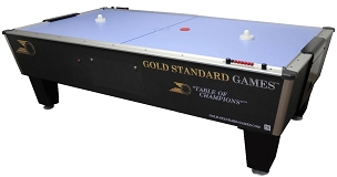 Gold Standard Games Tournament Ice Manual Score Air Hockey Table 8HGS-W01-MSLB