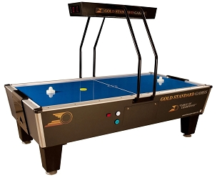 Gold Standard Games Tournament Pro Elite Air Hockey Table 8HGS-W01-OHS