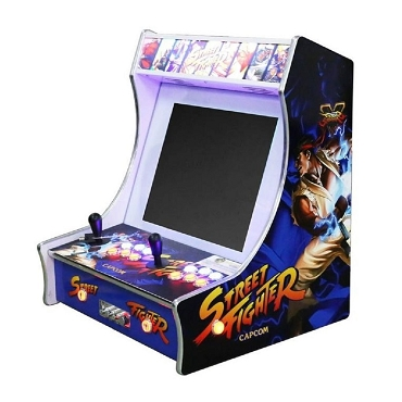 HYPER SPIN-BOT Barcade Bartop Arcade Game (Over 2,200 games in One Plug & Play System!)
