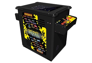 Pac-Man's Pixel Bash (Cocktail Model; Non-coin)