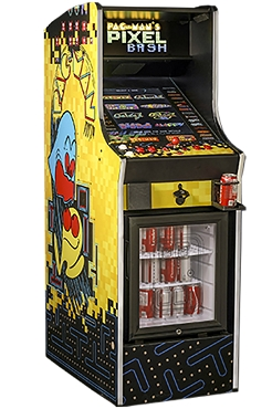 Pac-Man's Pixel Bash Chill (Non-coin, home model) (With Refrigerator)