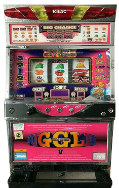 Pachislo Slot Machine (JUGGLER V) Token play only!
