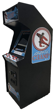 KARATE CHAMP ARCADE GAME (Upright Game)