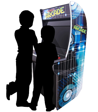 2 Player Mini Stand Up Arcade | 2323 Games | 21