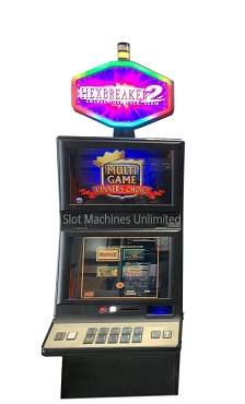 Multigame IGT Slot Machine