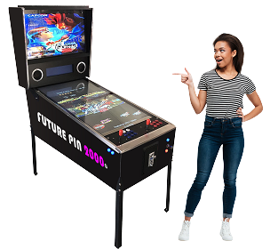 FUTURE PIN 2000™ Virtual Pinball Machine Includes Over 2,000 Games! Large-43