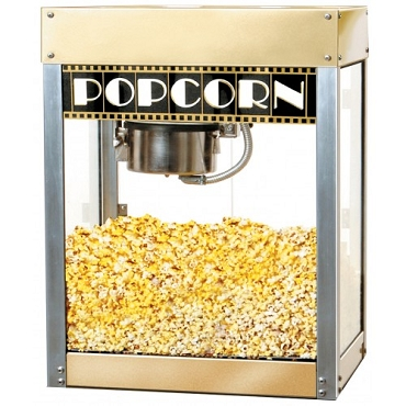 Premiere Popcorn Machine - 4 oz Kettle