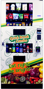QUICK BREAK COMBO Vending Machine Model