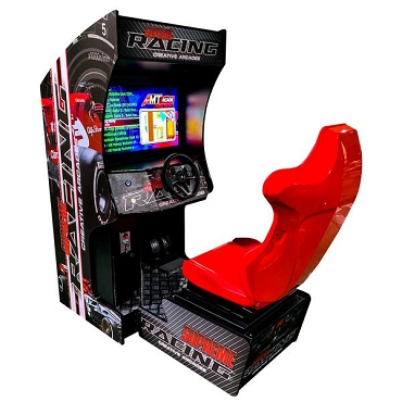 ARCADE RACING MACHINE! Cockpit Game Cabinet| 129 Racing Games | 32