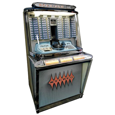 THE 1961 ROCK-OLA REGIS 200 SELECTION JUKEBOX (Only 1 in the world!)