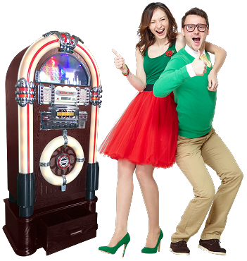 ROCK-ON Jukebox Retro Classic (Mid-Size Jukebox)