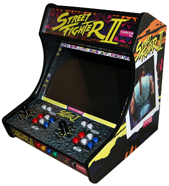 MegaKade Bartop Arcade Machine (17,000+ Games) (Street Fighter II)