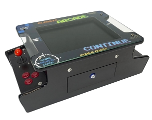 1 Player Mini Upright Tabletop Arcade | 412 Classic Games | 15