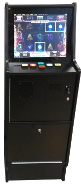 SLIMLINE MULTI-LINE & CHERRY MASTER STYLE MACHINE Game Cabinet! (Touch-screen + Buttons) (Cab-style B)