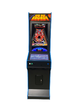 NEW AGE ARCADE Virtual Pinball Machine Model (VirtiPin) (300+ In In Pinball Tables)