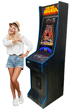 NEW AGE ARCADE Virtual Pinball Machine Model (VertiPin) (300+ In In Pinball Tables)