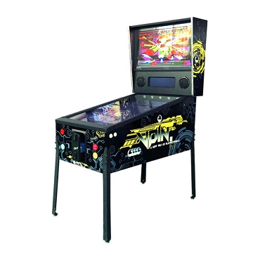 VPin Ultra Virtual Video Pinball Machine! Includes 300 FAMOUS Pinball Games! 49