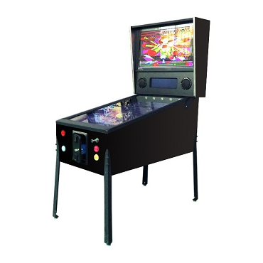VPin Ultra Virtual Video Pinball Machine! Includes 322 FAMOUS Pinball Games! 49