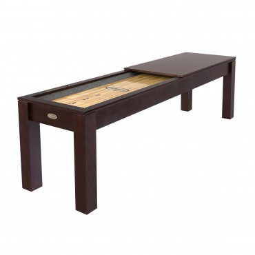 9-FT. ESPRESSO SHUFFLEBOARD BUFFET TOP