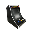 NEW AGE ARCADE Bar-Top 5700 Games In One! (Yellow t-molding)