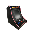 NEW AGE ARCADE Bar-Top 5700 Games In One! (Pink t-molding)