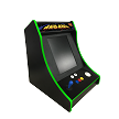 NEW AGE ARCADE Bar-Top 5700 Games In One! (green t-molding)