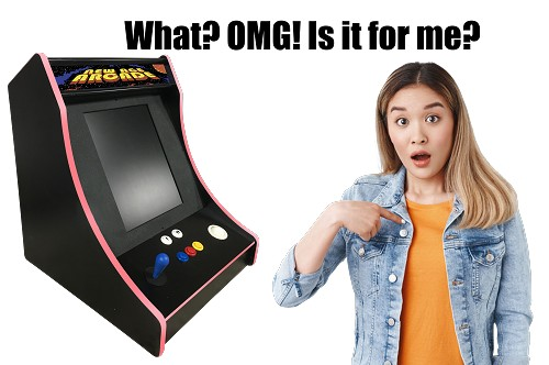 NEW AGE ARCADE ULTIMATE Ultimate Bar-Top Arcade Machine! (5700 In On)