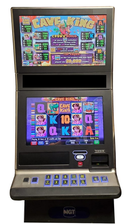 IGT G23 Cave King Slot Machines