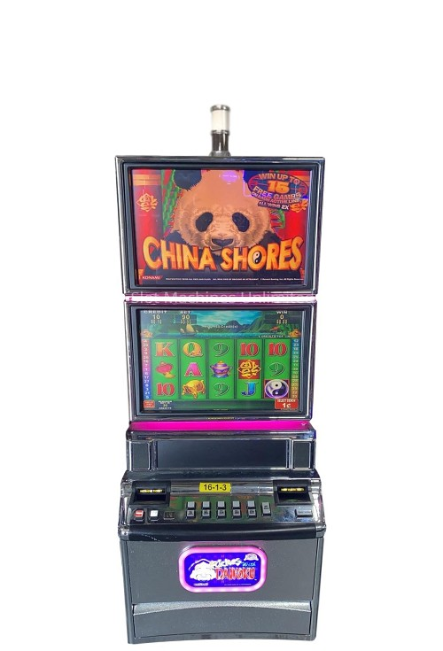China Shores Konami Podium Slot machine