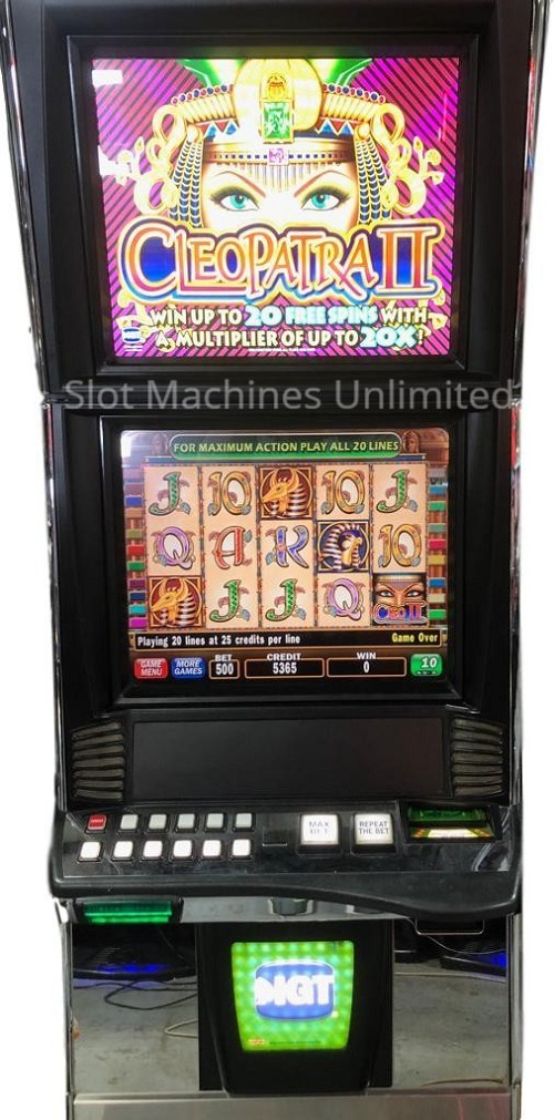 Cleopatra 2 IGT Trimline Slot Machine