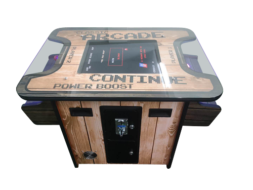 "2 Player Cocktail Table Arcade Machine with 19.5"" LCD monitor 