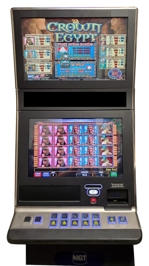IGT G23 Crown of Egypt Slot Machine