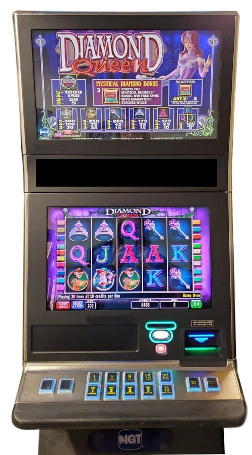 IGT G23 Diamond Queen Slot Machines