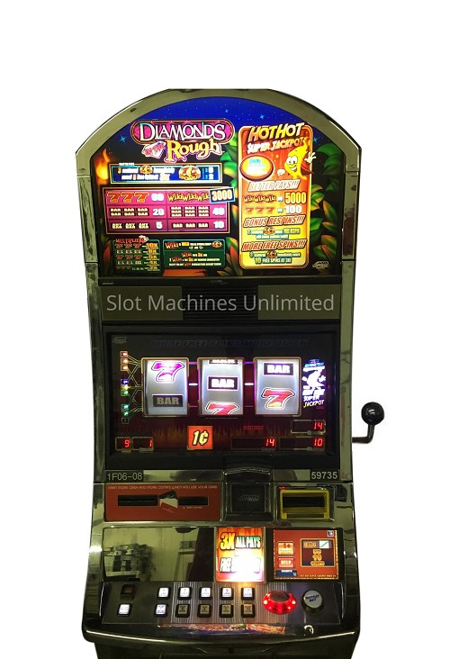 Diamonds in the Rough Williams Slot machine