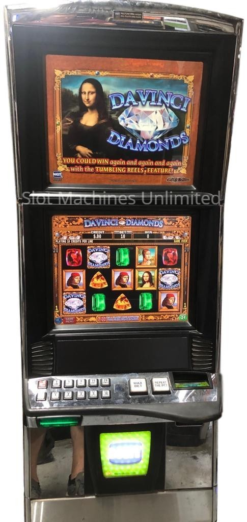 Davinci Diamonds IGT Trimline Slot Machine