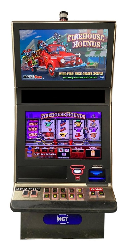 Firehouse Hounds (G23) Slot Machine