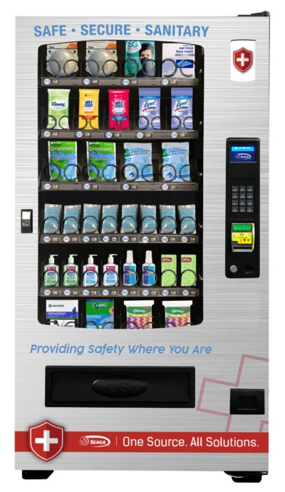 INFINITY 5-WIDE PPE Vending Machine Model (INF-5s-ppe)