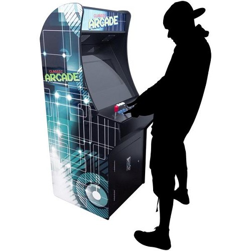 "2 Player Stand Up FULL SIZE | 4500 Games | 22"" Classic Video Game Arcade 