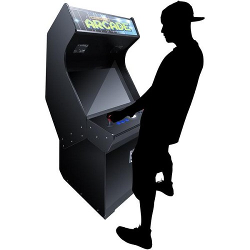 "2 Player Stand Up FULL SIZE | 3500 Games | 32"" Classic Video Game Arcade 