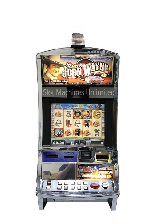 John Wayne Williams Slot Machine