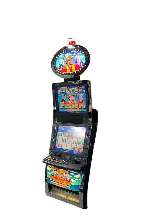 ARISTOCRAT SLOT MACHINE Model (Let's Go Fishing)