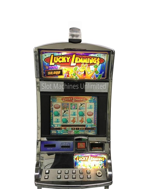 Lucky Lemmings Williams Slot machine