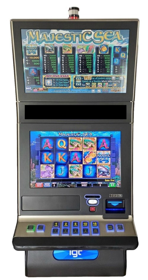 IGT G23 Majestic Sea Slot Machines