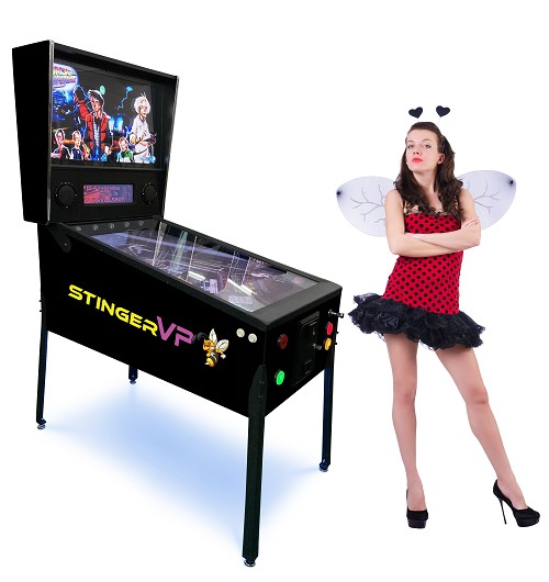 STINGER VP-DX (327 Games In One) Virtual Pinball Machine!