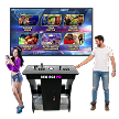 NEW AGE ARCADE PD 80K Connect Pedestal Arcade Machine! (2-player) (80,000+ Games in One!)